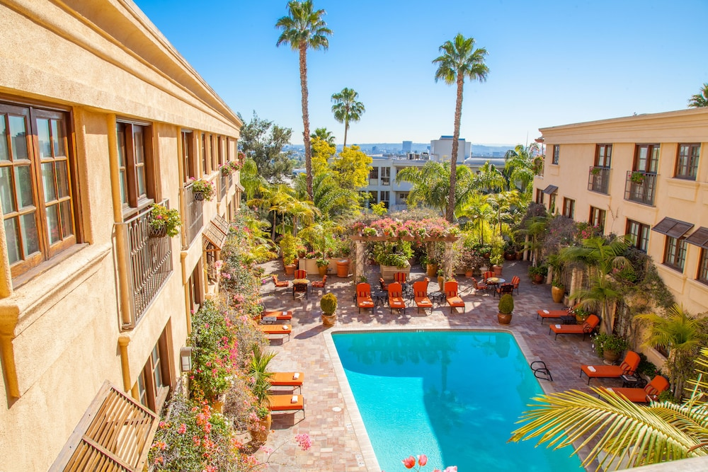 Best Western Plus Sunset Plaza Hotel West Hollywood Outdoor Pool