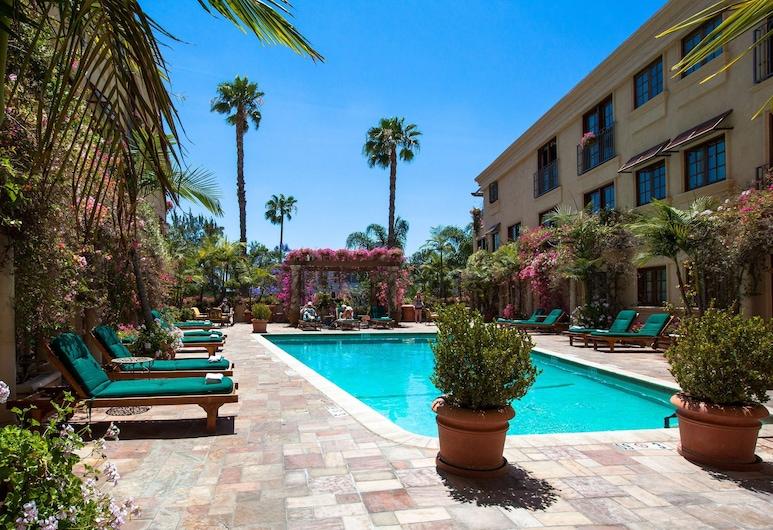 Best Western Plus Sunset Plaza Hotel, West Hollywood, Terrasse/Patio