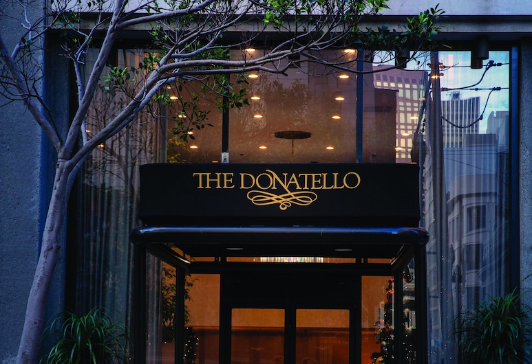 The Donatello, San Francisco, Wejście do hotelu