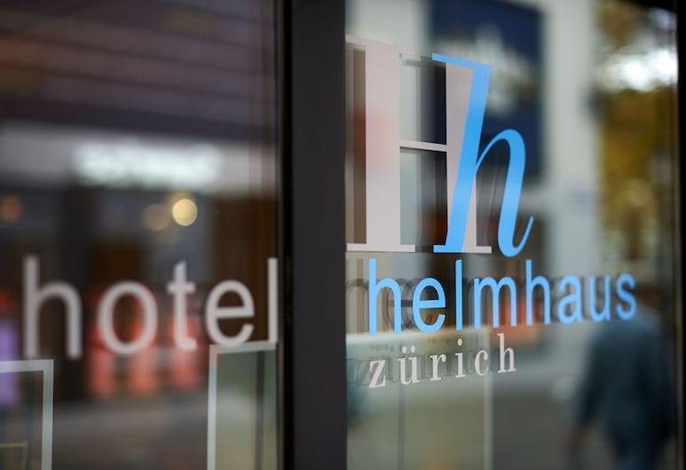 Hotel Helmhaus, Zürich, Vchod do hotela