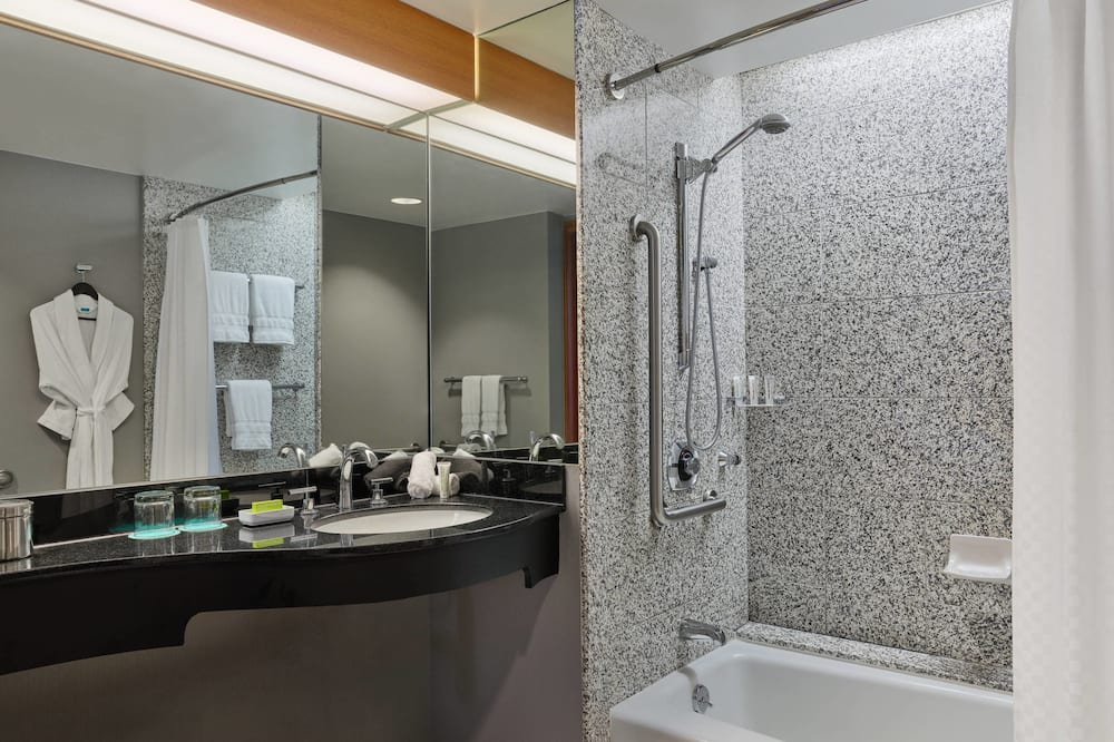 開放式套房, 1 張特大雙人床, 非吸煙房 - 浴室