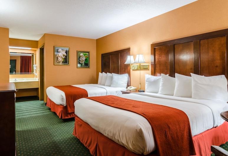 尤里卡斯普林斯品質飯店, 尤里卡斯普林斯, 標準客房, 2 張加大雙人床, 非吸煙房, 客房
