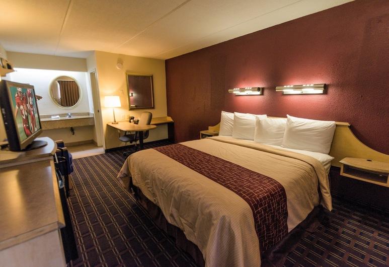Red Roof Inn Lafayette, LA, Lafayette, Superior soba, 1 king size krevet, za pušače, kuhinja, Soba za goste