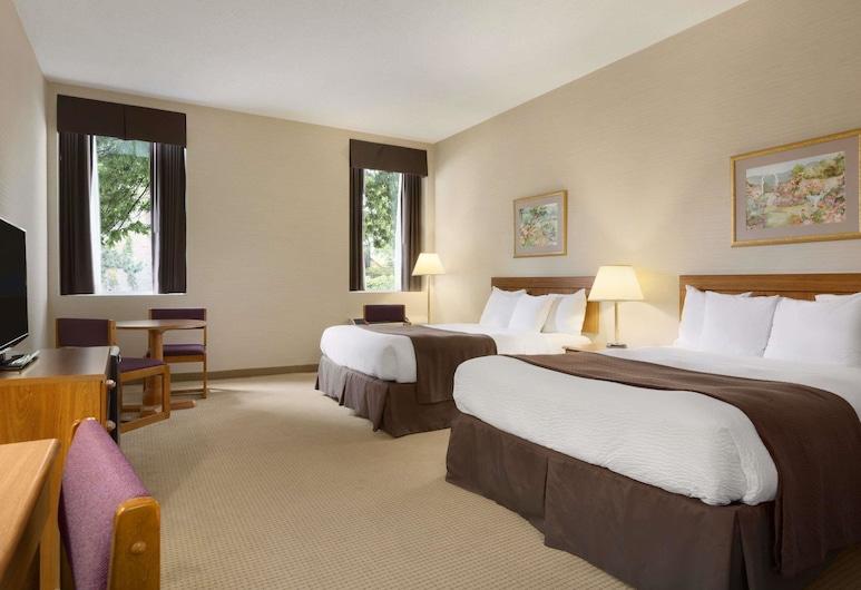 Days Inn by Wyndham Toronto East Beaches, Торонто, Одномісний номер з двоспальним ліжком, Номер