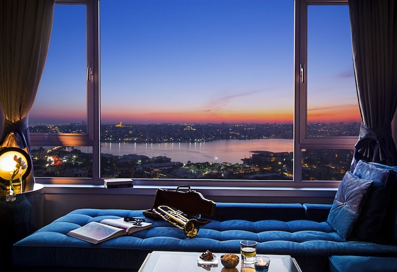 The Marmara Pera, Istanbul, Suite, Water view