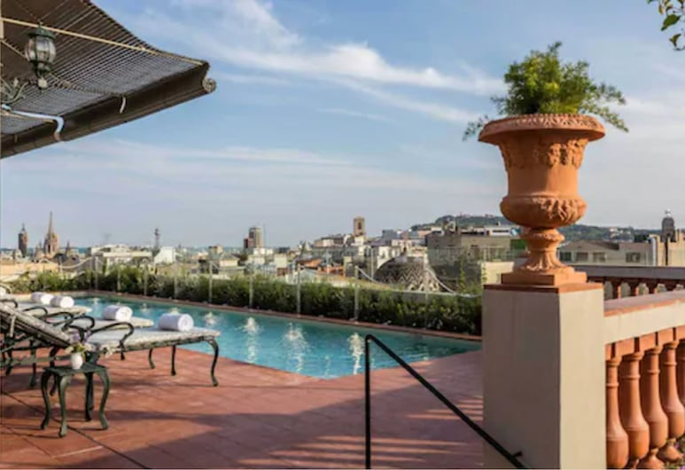 Hotel El Palace Barcelona, Barcelona, Piscina externa