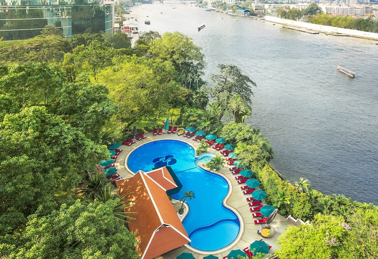 Royal Orchid Sheraton Hotel & Towers, バンコク, 航空写真