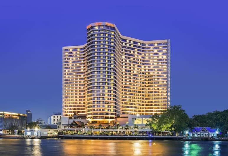 Royal Orchid Sheraton Hotel & Towers, Bankokas, Išorė
