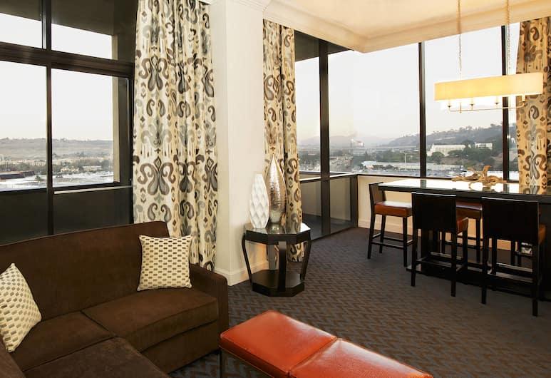 Sheraton Mission Valley San Diego Hotel, San Diego, Suite Présidentielle, 1 chambre, non-fumeur, en angle, Chambre