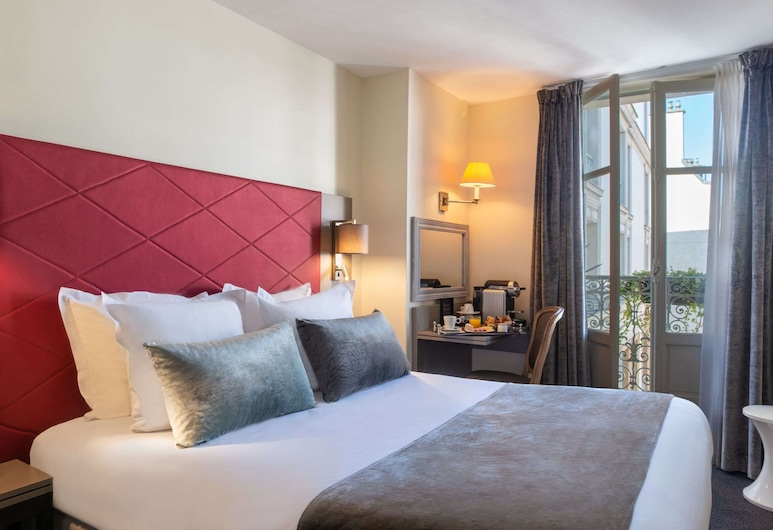 Hotel Aston, Parīze, Standarta divvietīgs numurs, Viesu numurs