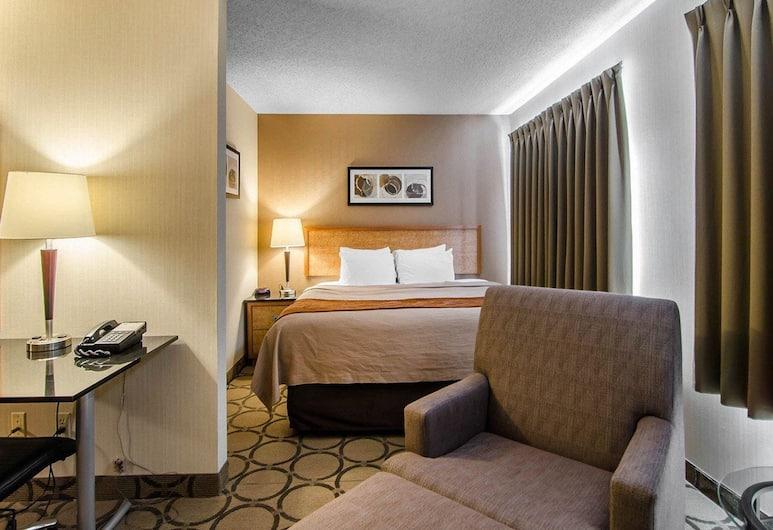 Comfort Inn Regina, Regina, Standarta numurs, 1 divguļamā karaļa gulta, nesmēķētājiem, pirmais stāvs, Viesu numurs