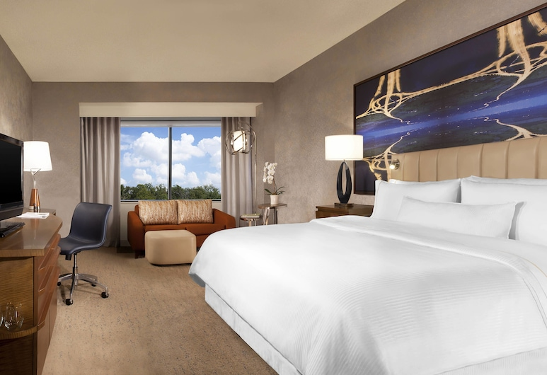 The Westin Dallas Park Central, Dallas, Kamer, 1 kingsize bed, Kamer