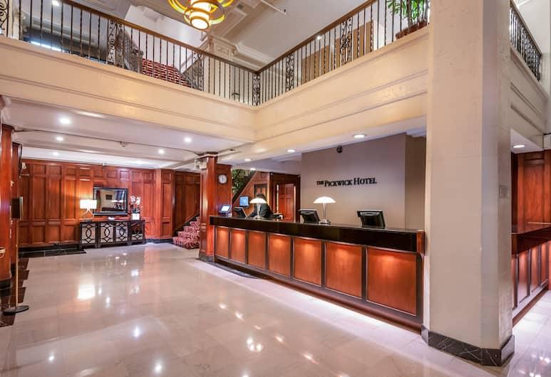 โรงแรมเดอะพิกวิก, ซานฟรานซิสโก, ฝ่ายต้อนรับ