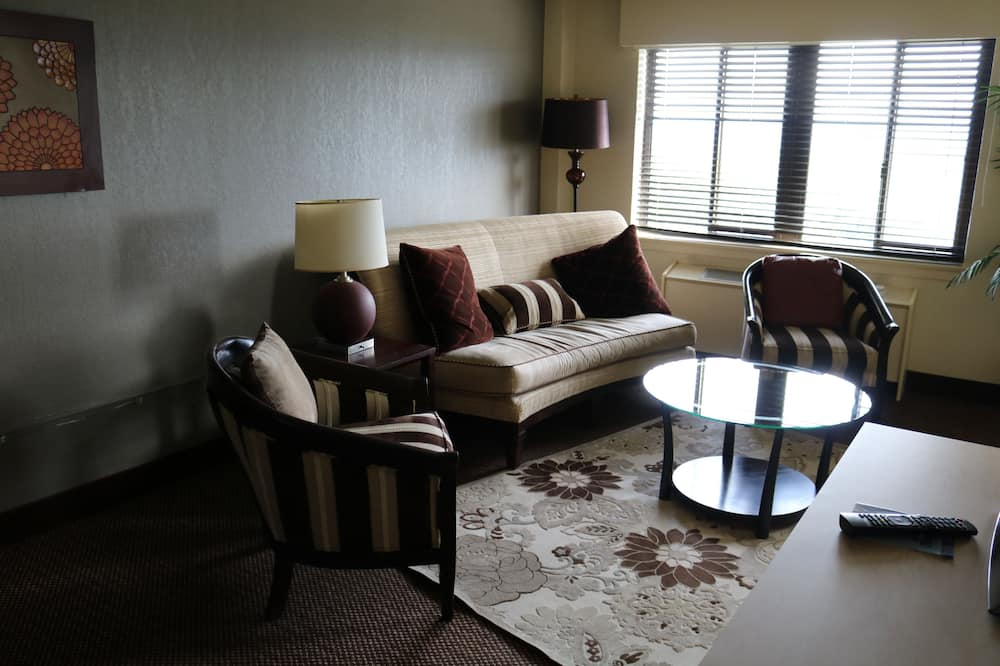 Elite King Suite - Living Area