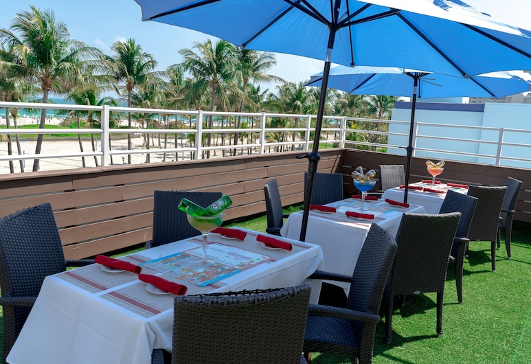 Boulevard Hotel, Miami Beach, Terrasse/veranda