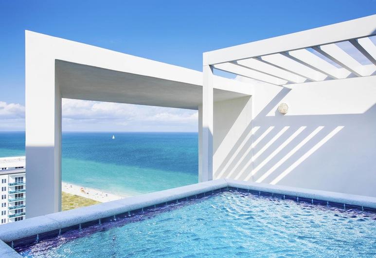 W South Beach, Miami Beach, Svit - 2 sovrum - balkong - havsutsikt, Gästrum