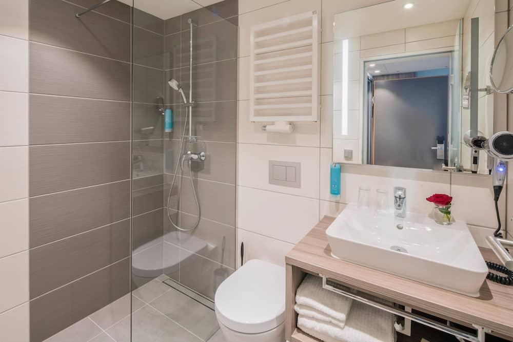 Standard szoba, 1 kétszemélyes ágy (Plus) - Fürdőszoba