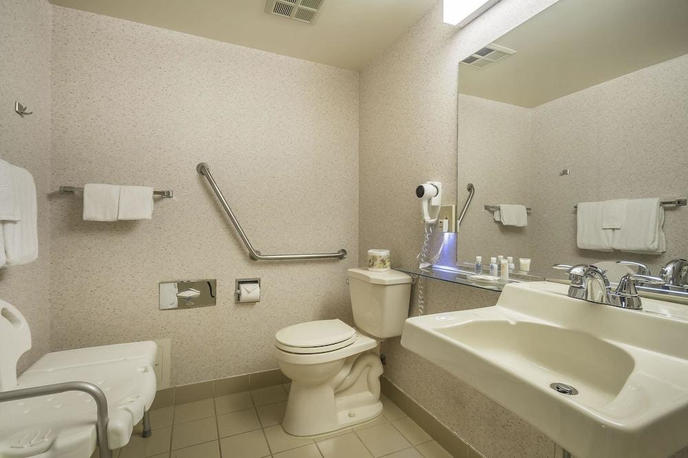Стандартный номер, 1 двуспальная кровать «Квин-сайз», для людей с ограниченными возможностями - Ванная комната