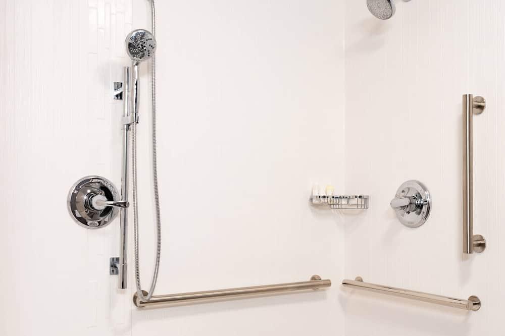 Kamer, 2 tweepersoonsbedden, niet-roken - Badkamer