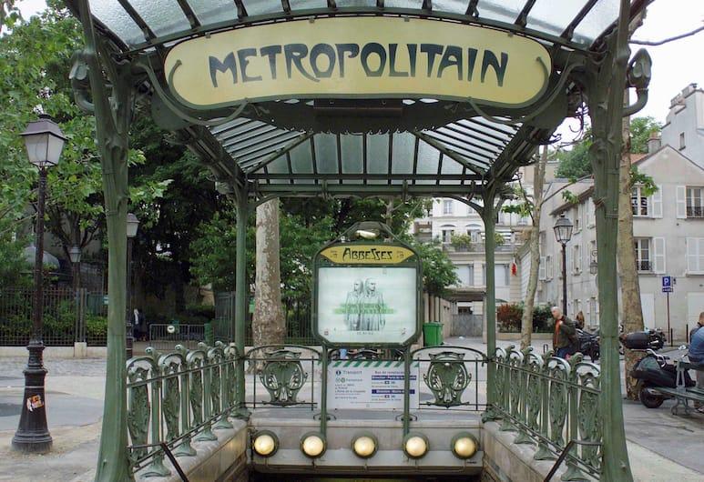 ibis Styles Paris Tolbiac Bibliotheque, Pariis, Vaade tänavale