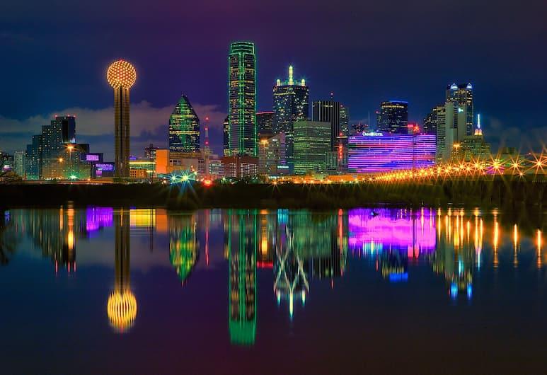 DoubleTree by Hilton Hotel Dallas - Campbell Centre, Dallas, Výhled z hotelu