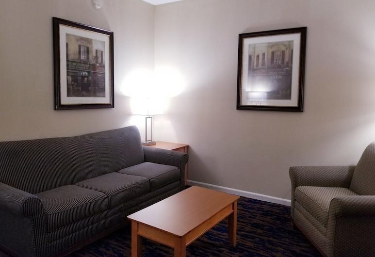 Baymont by Wyndham Indianapolis Northwest, Indianapolis, Suite monolocale, 1 letto king, accessibile ai disabili, non fumatori (Mobility), Area soggiorno
