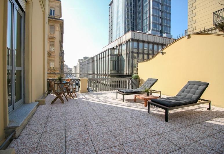 Hotel Diplomatic, Turin, Terrace/Patio