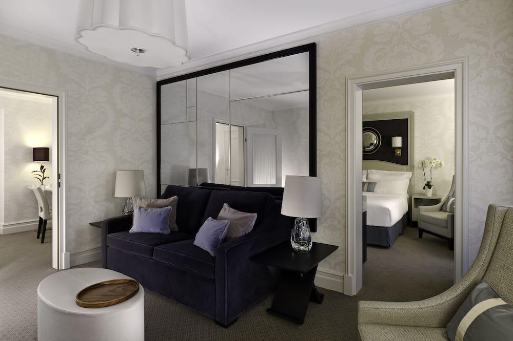 ห้องสวีท, 1 ห้องนอน, ปลอดบุหรี่ (Bristol Suite) - พื้นที่นั่งเล่น