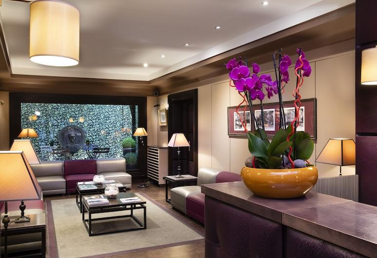 Elysées Hotel, Parigi, Lounge della hall