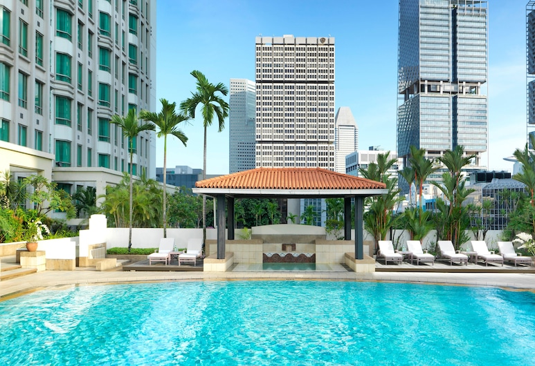InterContinental Singapore, Singapore, Deluxe Room, Indoor/Outdoor Pool