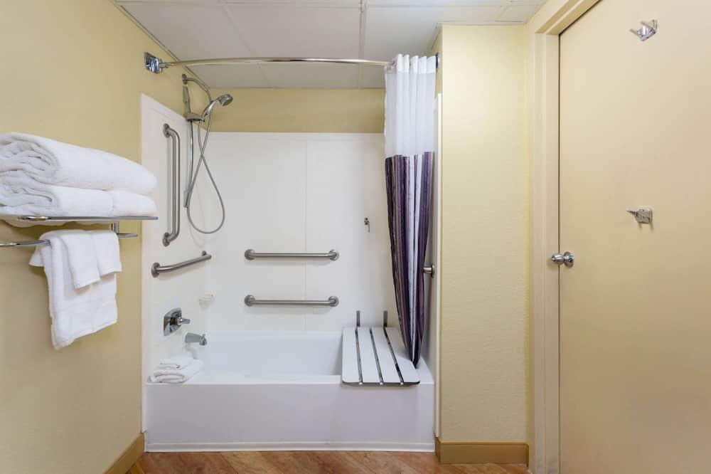 Kambarys, 1 standartinė dvigulė lova, Nerūkantiesiems - Neįgaliesiems pritaikytas vonios kambarys