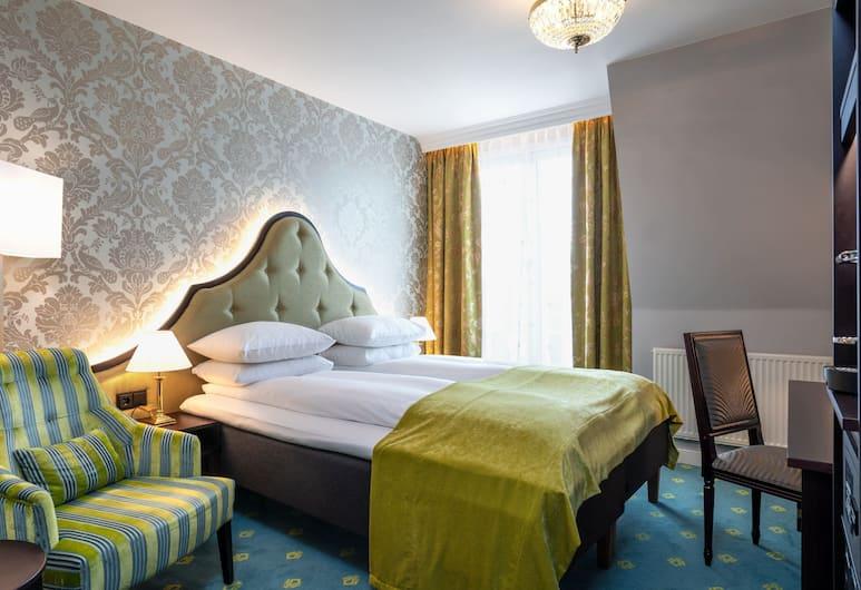 Hotel Bristol, Oslo, Dobbeltrom – standard, 1 dobbeltseng, ikke-røyk, Gjesterom