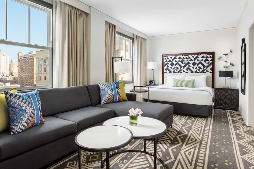 Deluxe-Zimmer, 1King-Bett (Urban Suite) - Wohnbereich