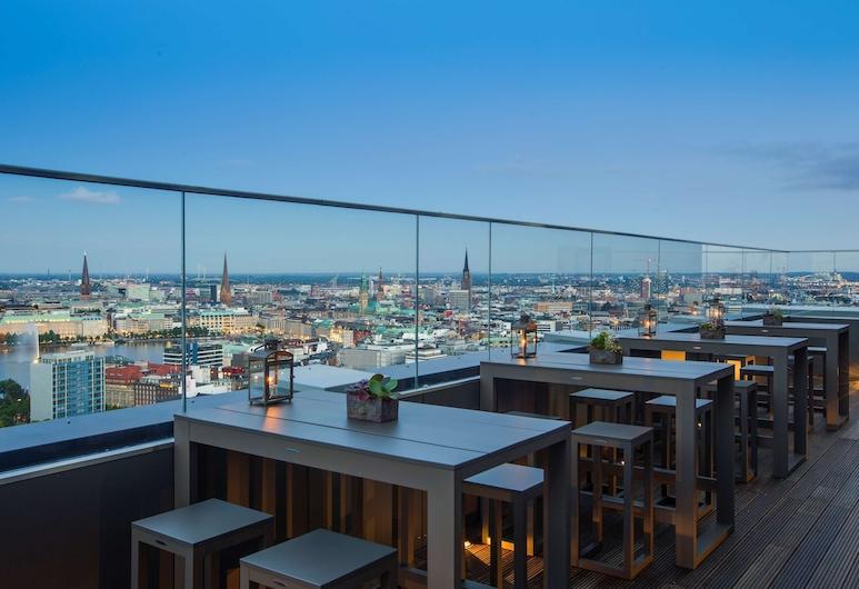 Radisson Blu Hotel, Hamburg, Hamburg, Terrasse/Patio