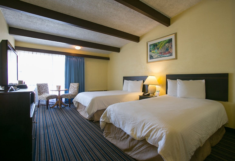 Hollywood Gateway Inn, Hollywood, Standard Room, 2 Double Beds, Non Smoking, Guest Room