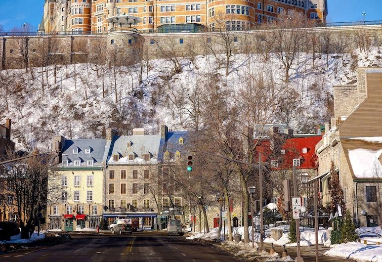 Fairmont Le Chateau Frontenac, Quebec, Hotel Front