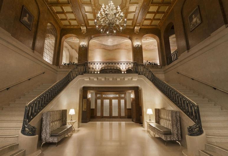 費爾蒙特芳緹娜城堡飯店, 魁北克, 大廳
