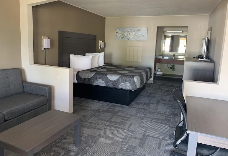 SureStay Hotel by Best Western Olathe, Olathe, Suite, 1 cama King size con sofá cama, para no fumadores, Habitación