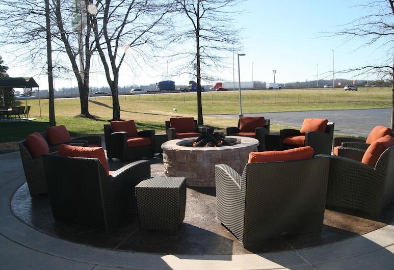 Hampton Inn Knoxville-West At Cedar Bluff, Knoxville, Terrace/Patio