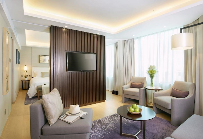 Wharney Hotel, Hong Kong, Junior Suite, Living Area