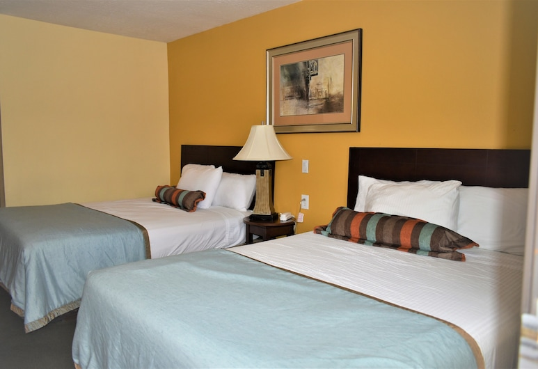 Travelodge by Wyndham Albuquerque East, Albuquerque, Pokój Deluxe, 2 łóżka queen, dla niepalących, Pokój