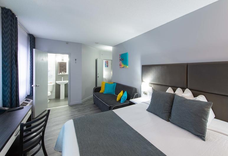 Travelodge Hotel by Wyndham Montreal Centre, Montréal, Kamer, 1 queensize bed met slaapbank, niet-roken, Kamer