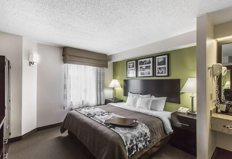 Sleep Inn North, נוקסוויל, חדר סטנדרט זוגי, 2 מיטות זוגיות, ללא עישון, חדר אורחים