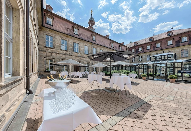 Welcome Hotel Residenzschloss Bamberg, Bamberg, Taras/patio