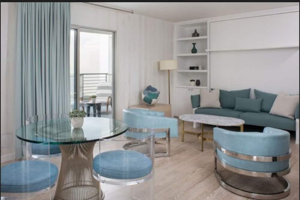 Suite, 1 habitación, para no fumadores (Avalon) - Sala de estar
