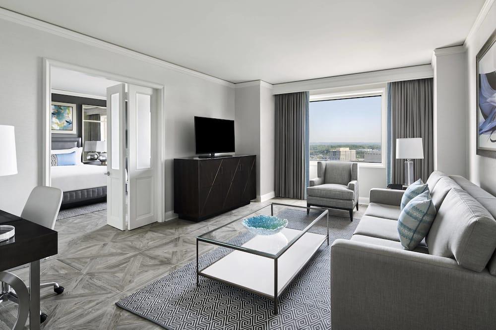 Suite ejecutiva, 1 habitación, vista a la ciudad - Habitación