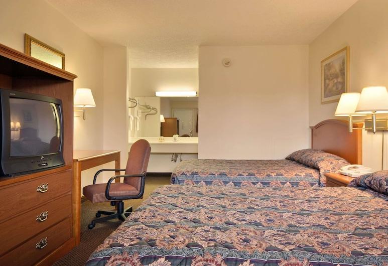 Days Inn by Wyndham Plainfield, Pleinfīlda, Standarta numurs, 2 divguļamās karalienes gultas, Viesu numurs