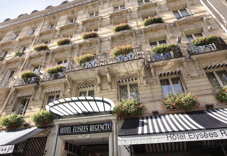 Hotel Elysees Regencia, Paris, Hotellfasad