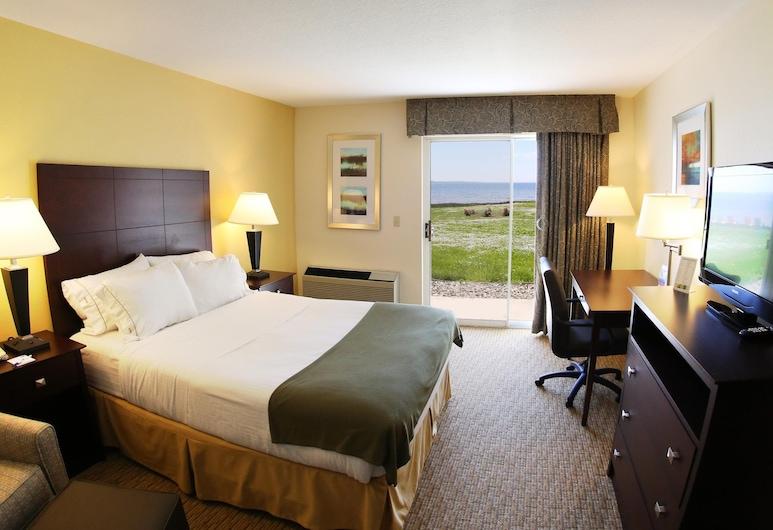 Holiday Inn Express St. Ignace-Lake Front, St Ignace, Chambre, 1 grand lit, accessible aux personnes à mobilité réduite, non-fumeurs (Wheelchair), Chambre