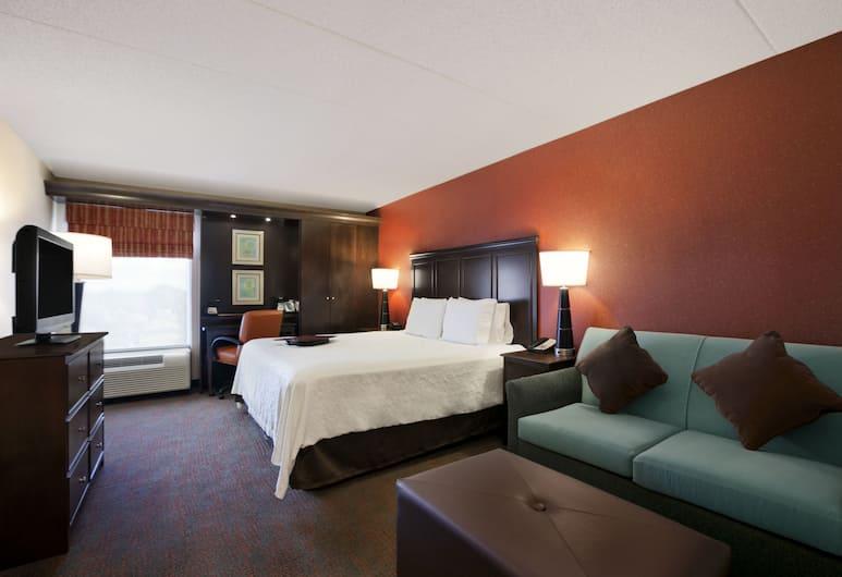 Hampton Inn by Hilton Chicago-Midway Airport, Chicago, Kamer, 1 kingsize bed met slaapbank, niet-roken (Study), Kamer